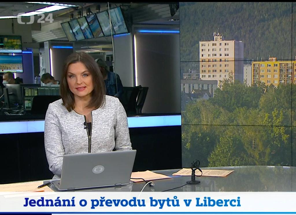 Jednání o převodu bytů v Liberci